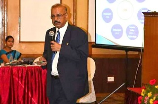 Dr. Muhammed Majeed, Founder and Managing Directior, Sami Labs Ltd. gave the lead talk in the Biotechnology Industries Conclave, held at Trivandrum