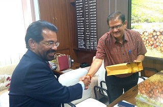 Sami Labs signs a Memorandum of Understanding with Madhya Pradesh Rajya Van Vikas Nigam (MP Forest Development Corporation), Bhopal on 12th March 2018.