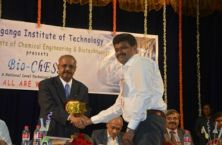 Dr. Majeed was invited as Chief Guest at the Bio-Chess event organized by Siddaganga Institute of Technology, one of the best engineering college in Bangalore on 20 March 2018