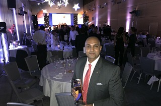 Sami-Sabinsa founder Muhammed Majeed Ph.D. was chosen as the 2018 NutraChampion in the NutraIngredients Awards in association with VitaFoods Europe.  Shaheen Majeed, Sabinsa President Worldwide, accepted the award on his father's behalf in Geneva on 16th May 2018.