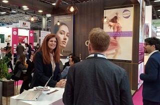 In-cosmetics global held in Paris from 2 to 4 April 2019