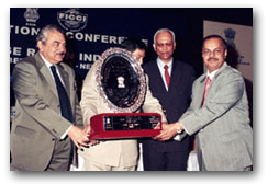 Best Export Award Overall - GOLD Award for Excellence in Exports from Karnataka for the period of 1996 thru 2000 by Visvesvaraya Industrial Trade Centre, Govt. of Karnataka, Centre for Export Promotion