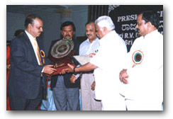 Excellence in Exports from Karnataka to Dr. Muhammed Majeed