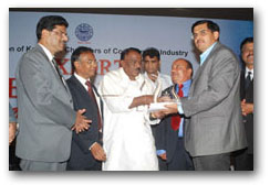 Export Excellence Award given to Sami Labs, Ltd.