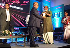 Dr. Majeed receives Excellence in Research and Development Award from Honorable Finance Minister of Kerala Sri T.M Thomas Issac