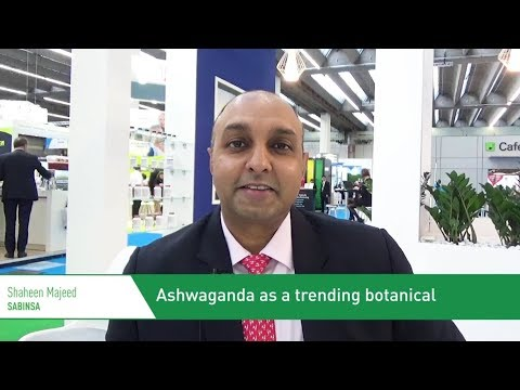 Ashwaganda as a trending botanical