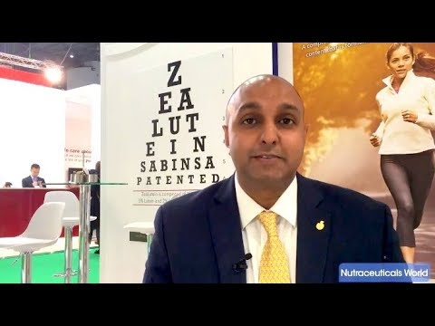 Sabinsa Highlights Eye Health Category Trends