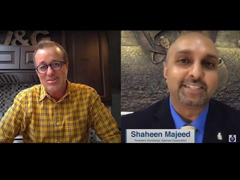 Shaheen Majeed, President Worldwide, Sabinsa in conversation with Jon Benninger of Informa / SupplySide
